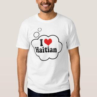 I Love Haitian T Shirts