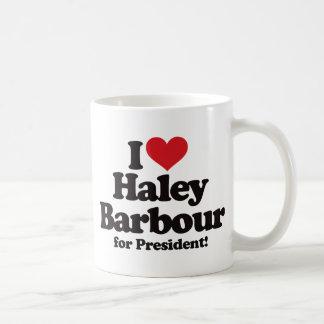 I Love Haley Barbour for President Mugs