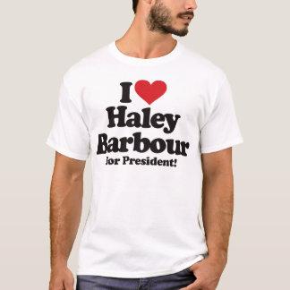 I Love Haley Barbour for President T-Shirt