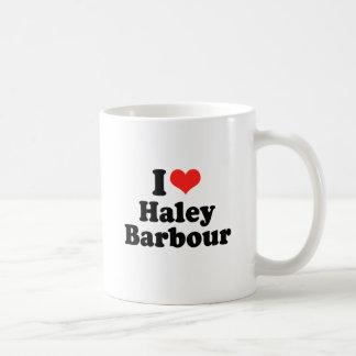 I Love Haley Barbour Coffee Mugs