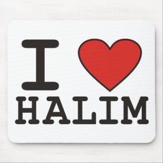 I Love Halim Mouse Pad
