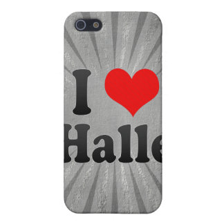 I Love Halle, Germany Covers For iPhone 5