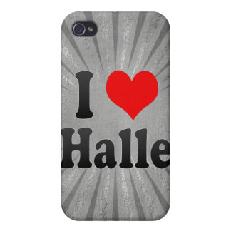 I Love Halle, Germany iPhone 4/4S Cases