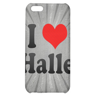 I Love Halle, Germany iPhone 5C Cases
