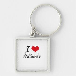 I love Hallmarks Keychain