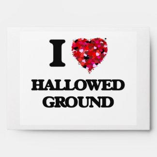 I Love Hallowed Ground Envelopes