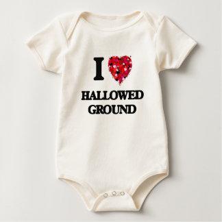 I Love Hallowed Ground Baby Bodysuit