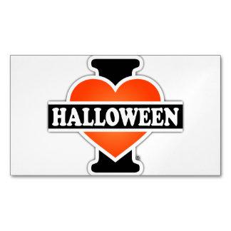 I Love Halloween #1 Business Card Magnet