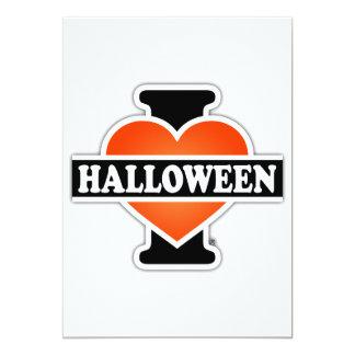 I Love Halloween #1 Card