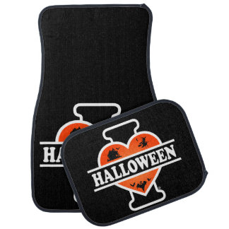 I Love Halloween #2 Car Mat