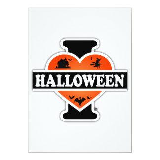 I Love Halloween #2 Card