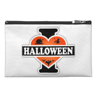 I Love Halloween #2 Travel Accessories Bags