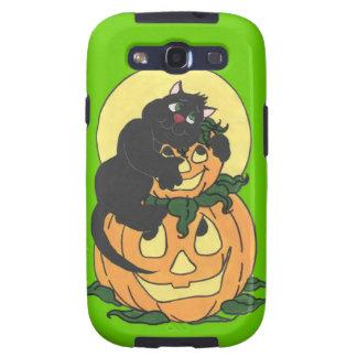I love Halloween Cat Samsung Galaxy S3 Case