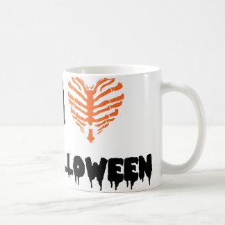 I Love Halloween Classic White Coffee Mug