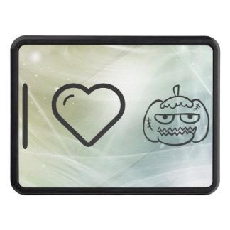 I Love Halloween Eggheads Tow Hitch Covers