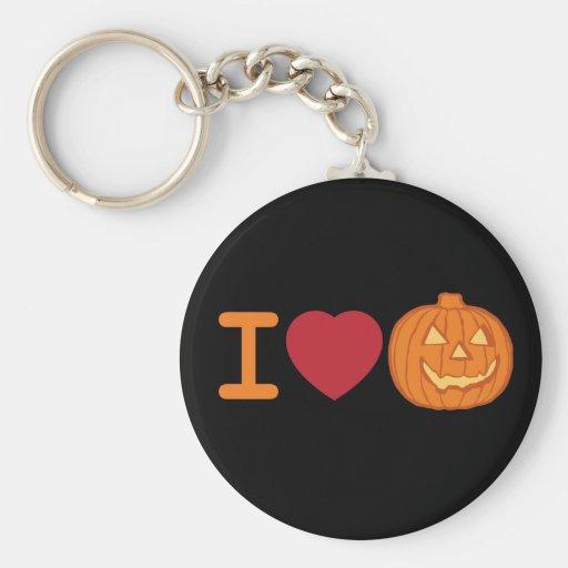 I love Halloween Key Chain