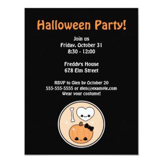 I Love Halloween Party Card