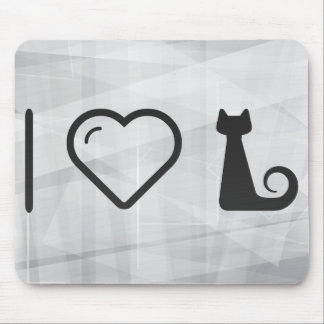 I Love Halloween Snakes Mouse Pad