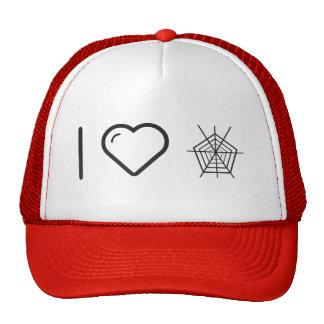 I Love Halloween Spiders Trucker Hat