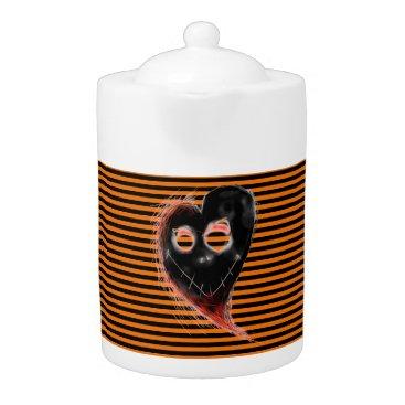 Halloween Themed I love Halloween Teapot