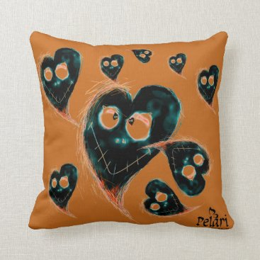 Halloween Themed I love Halloween! Throw Pillow
