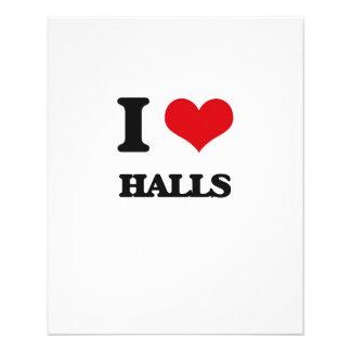 I love Halls Custom Flyer