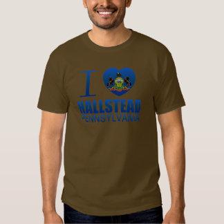 I Love Hallstead, PA T Shirt