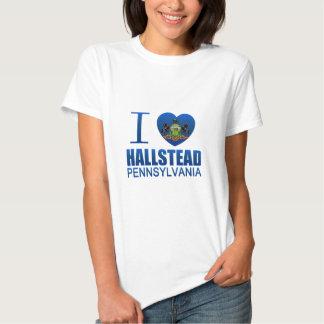 I Love Hallstead, PA Tee Shirts