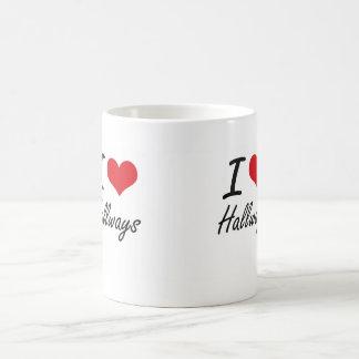 I love Hallways Classic White Coffee Mug
