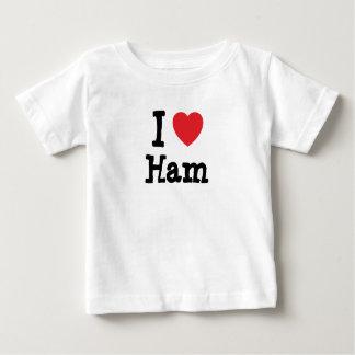 I love Ham heart T-Shirt