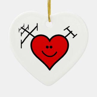 I Love Ham Radio Ornament by Brownielocks