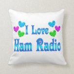 I Love Ham Radio Pillow