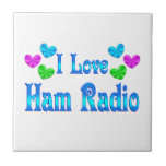 I Love Ham Radio Tiles
