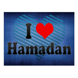 I Love Hamadan, Iran Postcard