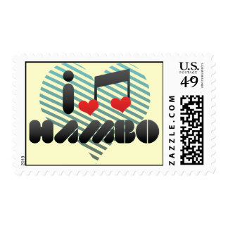 I Love Hambo Stamps