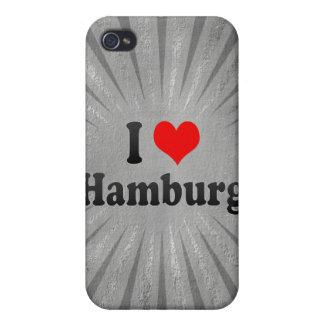 I Love Hamburg, Germany iPhone 4/4S Cover