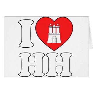 I Love Hamburg (HH) Card