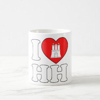 I Love Hamburg (HH) Coffee Mug