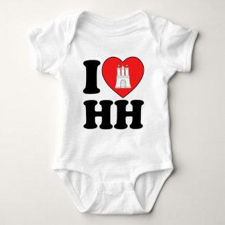 I Love Hamburg (HH) Shirt