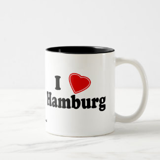 I Love Hamburg Coffee Mugs