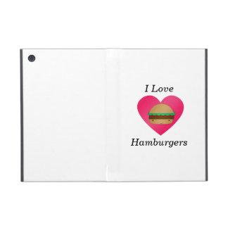 I love hamburgers iPad mini cases