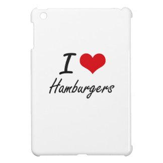 I love Hamburgers iPad Mini Cover