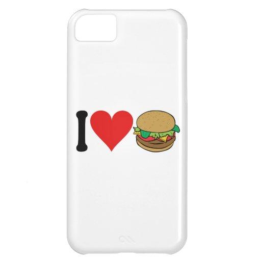 I Love Hamburgers * iPhone 5C Cover