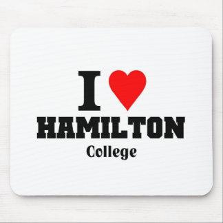 I love Hamilton College Mouse Pad