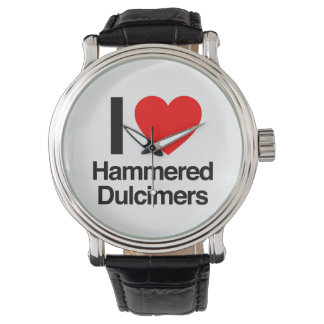i love hammered Dulcimers Wrist Watches