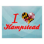 I Love Hampstead, Maryland Poster
