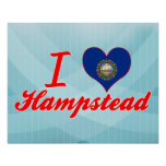 I Love Hampstead, New Hampshire Poster