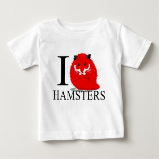 I Love Hamsters Baby's Baby T-Shirt