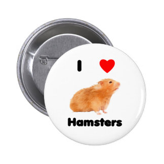 I love hamsters Button