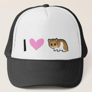 I Love Hamsters (syrian) Trucker Hat